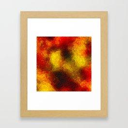 The sky behind the glass 3 Framed Art Print