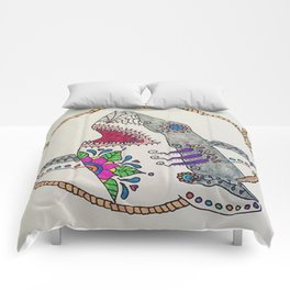 Day of The Dead Shark Comforters