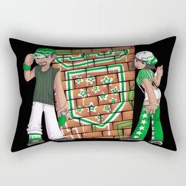Star Team Graffiti Rectangular Pillow