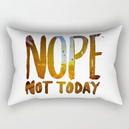 Nope Rectangular Pillow