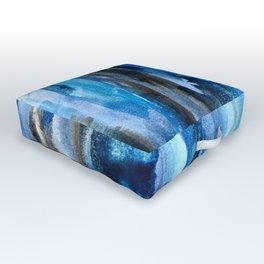 Deep Lapis Outdoor Floor Cushion