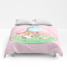 Bubu the Guinea pig, Cherry Blossom Terrarium Comforters