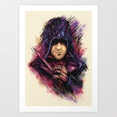 The Face Art Print