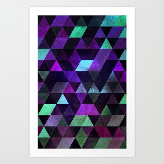 dyrk tyme Art Print