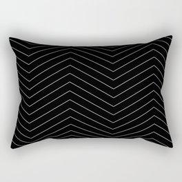 TIRE black Rectangular Pillow
