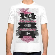 Be My Bride Mens Fitted Tee White MEDIUM