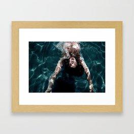 Sienna - Natural pool Framed Art Print