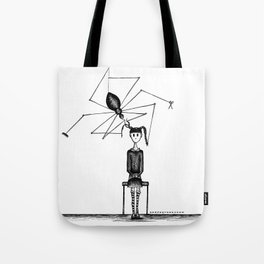 Miss Spider's Salon Tote Bag