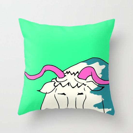 Beast of Burden Throw Pillow