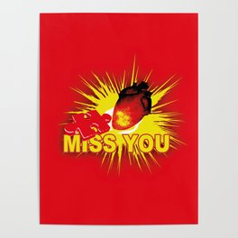 missing part of my heart Poster