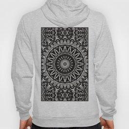 Ebony Lace Mandala Pattern Hoody