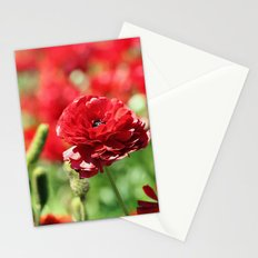 Scarlet Field Stationery Cards