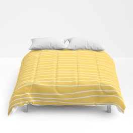 Sunshine Brush Lines Comforters