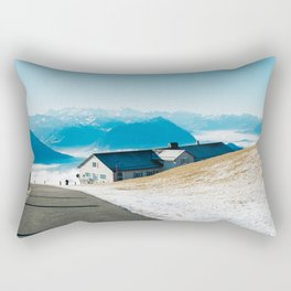 Mount Rigi Alpine View Rectangular Pillow