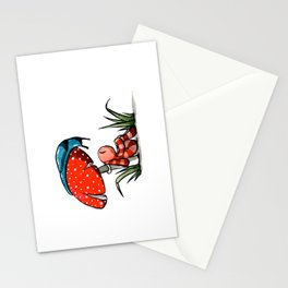 The quiet place Stationery Cards