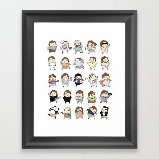 Jacks Framed Art Print