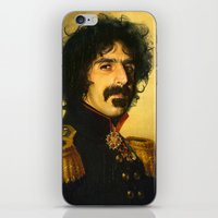 zappa iPhone & iPod Skins featuring Frank Zappa - replaceface by replaceface