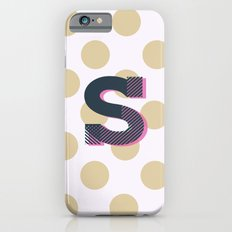 S is for Sweet iPhone 6s Slim Case