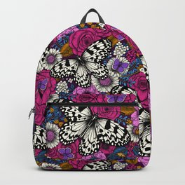 A colorful garden II  Backpack
