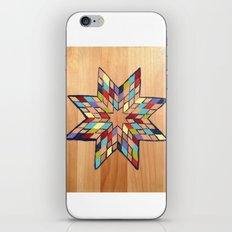Star Quilt Block iPhone & iPod Skin