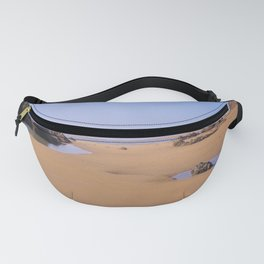 ROCK POOLS SANDYMOUTH BEACH NORTH CORNWALL Fanny Pack