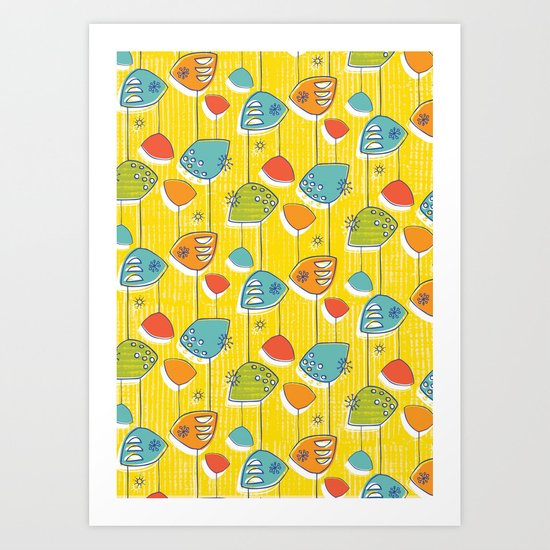 Atomic Revival Remixed Art Print