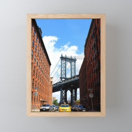That Brooklyn View - The Empire Peek Framed Mini Art Print