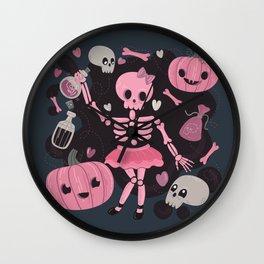 Love Potion Skeleton Dance Wall Clock