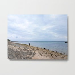 The Boy and the Sea Metal Print