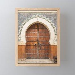 Doorways - Fes, Morocco Framed Mini Art Print