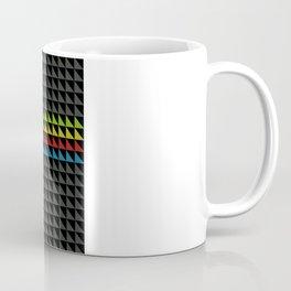 Four Tone Triangles Coffee Mug