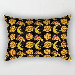 pizza space Rectangular Pillow