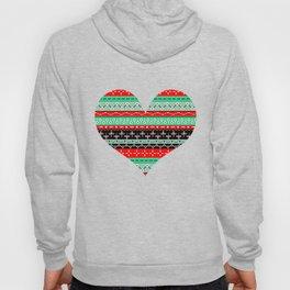 Pattern love Hoody