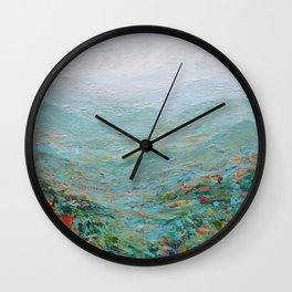 Blue Ridge October Wall Clock