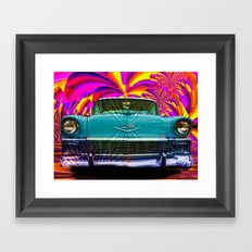 Those Were The Days Framed Art Print