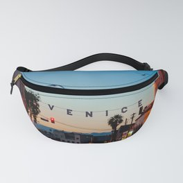 Venice Beach California Sunrise Fanny Pack