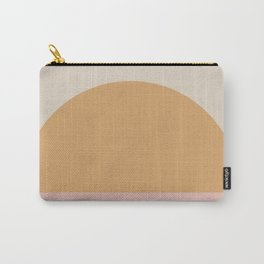 Neutral Retro Sunset Carry-All Pouch