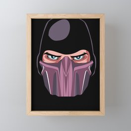 The Mask of Rain Framed Mini Art Print