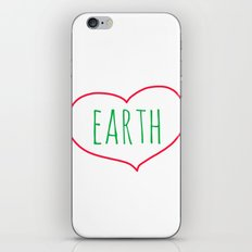 Earth Heart iPhone & iPod Skin