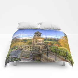 Allan Ramsey And Edinburgh Castle Comforters