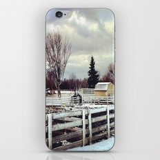 Yellow Barn iPhone & iPod Skin