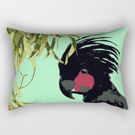 Palm Cockatoo Probosciger aterrimus Rectangular Pillow