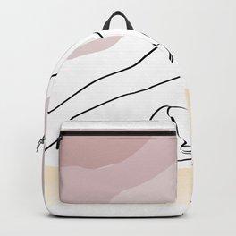 Plow Pose - Halasana Backpack