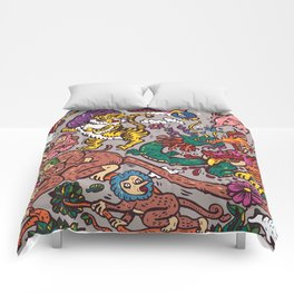 The Dragon with Owl Comforters