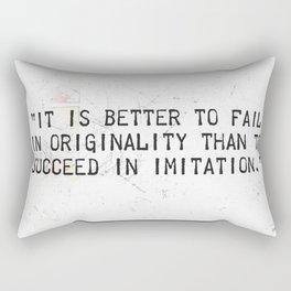 Herman Melville quote 2 Rectangular Pillow