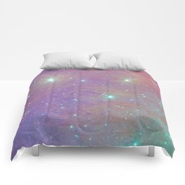 Cotton Candy Pleiades Comforters