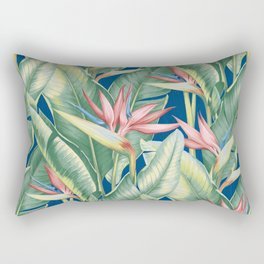 Flowers Birds of Paradise Rectangular Pillow