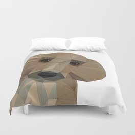 Hallo! My name is Doggy-Pooh Duvet Cover