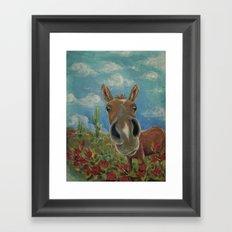Desert Horse Framed Art Print