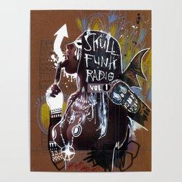 SKULL FUNK RADIO VOL. 1 Poster